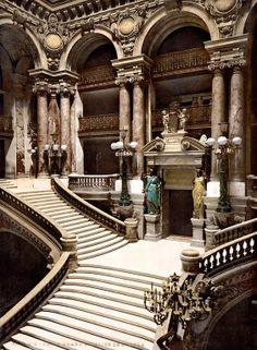 The Palais Garnier , Paris , France: