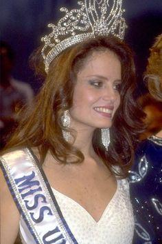 Cecilia Bolocco, Miss Chile won Miss Universe 1987