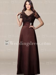 Mother Groom Dress_Espresso