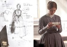 The film's designer, Michael O'Connor, tells us he avoided previous film adaptations of the Charlotte Bronte novel so as not to 'spoil' any ideas he may have had during his research. In order to control the look of the film, the British designer and his team had to custom make every article of clothing worn by the primary characters.