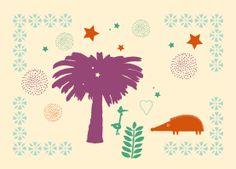 Textile-coussin-palmier