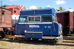 ☆MG☆ BC Rail Track Inspection Car No. V-10 ----  British Columbia Railway Canada