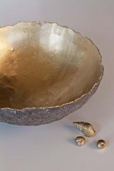Paper Bowls, Pinch Pots, Cold Porcelain, Paper Cutting, Serving Bowls, Paper Art, Decorative Bowls, Arts And Crafts, Tableware