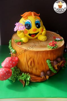 - Пищевая Скульптура, Торт Для Ребёнка, Оригинальные Торты, Помадные Торты, Торты Для Вечеринки По Случаю Рождения Ребенка, Красивые Торты, Милые Дети, Еда Торты, Статуэтка