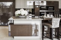 EXTREME High Gloss Kitchen With Layered Island Design