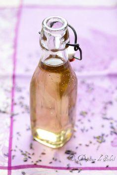 Sirop de lavande maison - Homemade lavender syrup