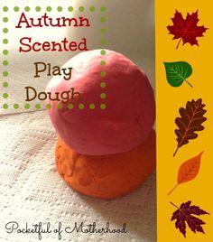 Apple cinnamon/pumpkin spice play dough recipes