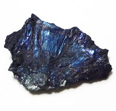 Covellite. CuS. Hexagonal. H=1.5-2 G=4.59-4.76