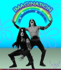 Abbath this shit is funny. Black metal, Immortal