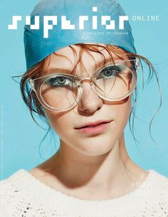 superior online magazine cover, issue august 2013 | Magazine Cover: Graphic Design, Typography, Photography |