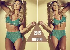 Bikini croché braga alta estrella 2015 patron