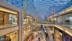new shopping center shi shi Shopping Mall Interior, Shopping Malls, Glass Roof, Skylight Glass, Skylight Design, Design Light, Central And Eastern Europe, Dark Interiors, Ceiling Windows