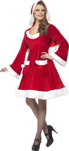 Disfraz de Mama Noel navideña mujer
