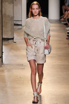 Isabel Marant Spring 2015 Ready-to-Wear - Collection - Gallery - Look 1 - Style.com  shorts
