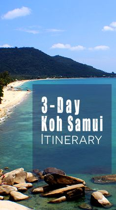 We created our own DIY Koh Samui Island Tour and a 3-day Itinerary for your time in tropical bliss