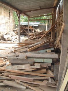 Our wood material