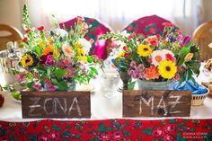 dekoracje ślubne w styli folk, folkowe wesele i ślub