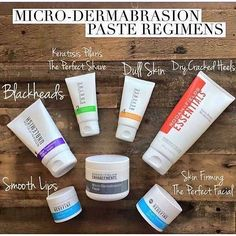 Rodan Fields microdermabrasion paste is amazing! Pair it with the shown products to create an amazing regimen!