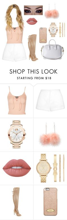 """Untitled #207"" by cgmhcjhf ❤ liked on Polyvore featuring Topshop, Marni, Movado, Lime Crime, Liz Claiborne, Vince Camuto, Givenchy and MICHAEL Michael Kors"