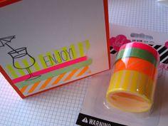 Neon Washi Tape by Heidi Swapp
