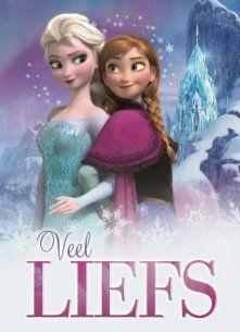 Veel liefs van de Frozen princessen! #Hallmark #HallmarkNL #disney #frozen