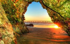 Pismo Beach Cave at Sunset Pismo Beach, San Luis Obispo County, Central Coast, Big Sur, Beach Pictures, Succulents, Beautiful Pictures, Country Roads, California