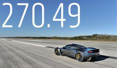 How much track do you need to become the 'fastest production car' in the world? If you're behind the wheel of the Hennessey Venom GT going mph you have to go where NASA landed freaking space shuttles. Hennessey Venom Gt, Nasa Images, High Performance Cars, Car In The World, American Muscle Cars, World Records, Embedded Image Permalink, Fast Cars, Cool Cars