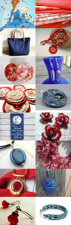 12 Days of Christmas - Day Five by Maisie on Etsy--Pinned with TreasuryPin.com