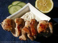 Dobrou+chuť:+Kuřecí+kebab+s+tahini+omáčkou