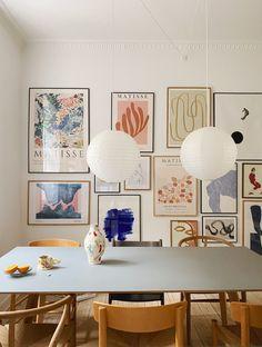 Interior Inspiration, Room Inspiration, Plakat Design, Room Decor, Wall Decor, Dining Decor, Fashion Room, Apartment Interior, House Rooms