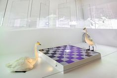 "Osmo Rauhala´s installation ""Game of life"". Art Installation, Life Photo, Exhibitions, Finland, Sculpture Art, Swan, National Parks, Art Installations, Swans"