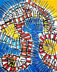 "Linofiori on Instagram: ""ELGABAL (SOL VICTUS) (sold) Acrylics on paper 50*65cm . . . . . . . . . . . . . #astratto #pitturacontemporanea #pittore #denbosch…"" Abstract Expressionism, 50th, Paper, Instagram, Artwork, Work Of Art, Auguste Rodin Artwork, Artworks, Illustrators"