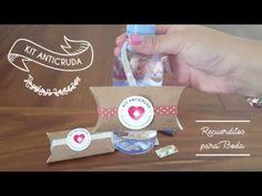 KIT ANTICRUDA   Recuerditos para Boda *PARTE 2 - YouTube