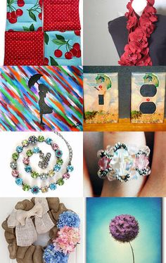 Spring has Sprung! by Marie Huffman on Etsy--Pinned with TreasuryPin.com