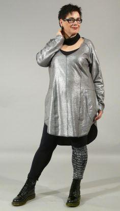 Bodycelli.nl Dè webshop voor grote maten dameskleding!::tuniek::tuniek zakken lurex Hebbeding