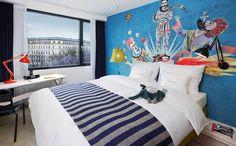 M-Room+ at 25hours Hotel Vienna M+-Zimmer im 25hours Hotel Wien