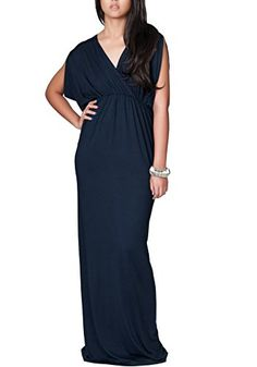 Xuan2Xuan3 Women Deep V Neck Sexy Sleeveless Long Maxi Beach Dress >>> Check out the image by visiting the link.
