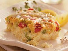 Asparagus and Swiss Bake ~~~~~~~~~~~~~ Betty Crocker