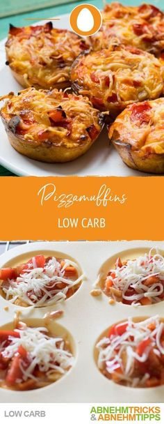 Delicious low carb pizza muffins - Low Carb Frühstück-Rezepte - Low carb pizza muffins recipe Informations About Leckere Low Carb Pizzamuffins Pin You can easily us -