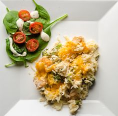 Chicken and Rice Casserole with Cream Cheese