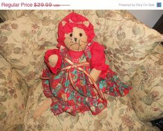 Christmas sale now on Mrs Mouse Kitty the Holiday Mouse by EMTWTT, $26.09