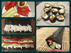 Proteinreiche Sushi Variante als Fitness-Rezept