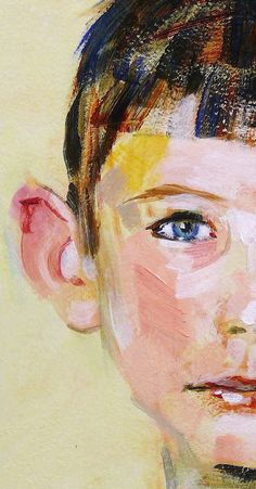 Detail of boy's face -- artist unknown; please comment if you have information to add.