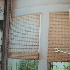 Bamboo shades picture from fresh Home magazine 3/19/12 COLOR