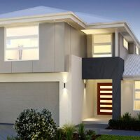 Lot 13 Funk Road - Regency Downs 4 Bedroom House Plans, Dream House Plans, Modern House Plans, Double Storey House, Hallmark Homes, Home Design Floor Plans, Home Budget, Storey Homes, Display Homes