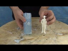 (101) Mold Making & Casting Tutorial: 73-20 Figurine Mold - YouTube
