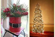 decoração natalina - reciclando.