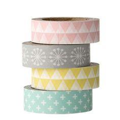 BLOOMINGVILLE+-+Set+de+4+masking+tapes+-+Pastel