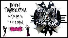 Hotel Transylvania Hair Bow Tutorial - Mavis Bow - Hairbow Supplies, Etc.