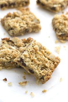 Low Carb Grain-Free Chocolate Caramel Crumb Bars